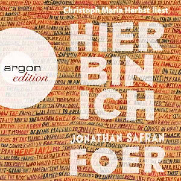 Hier bin ich (Gekürzte Lesung) von Jonathan Safran Foer